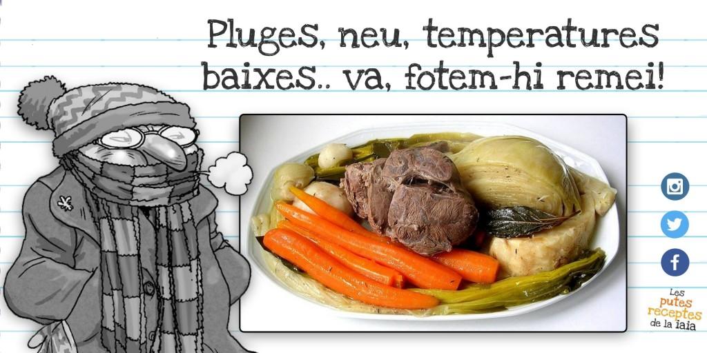 Escudella amb carn d 39 olla ideal pels dies merdosos - Vedella amb bolets olla express ...