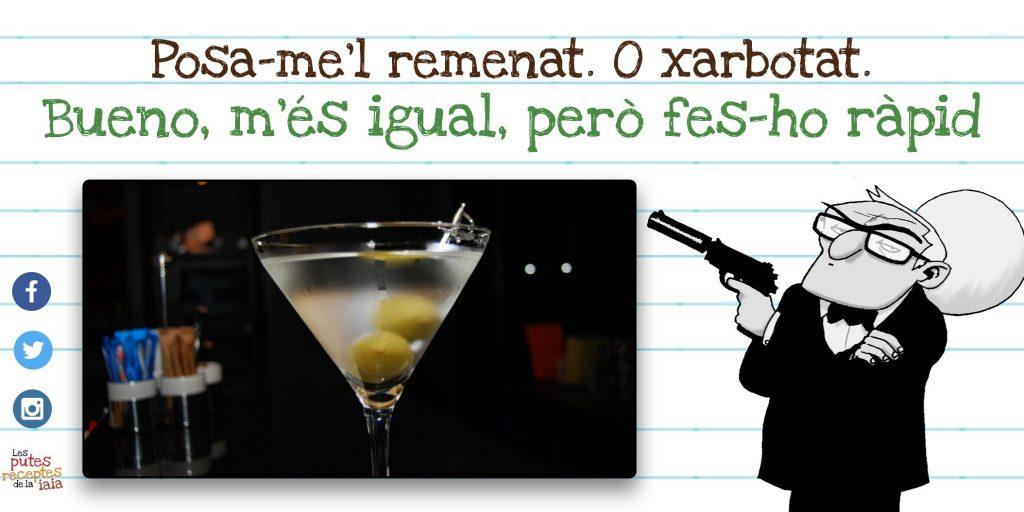 Dry Martini és típic nom que fa rabieta