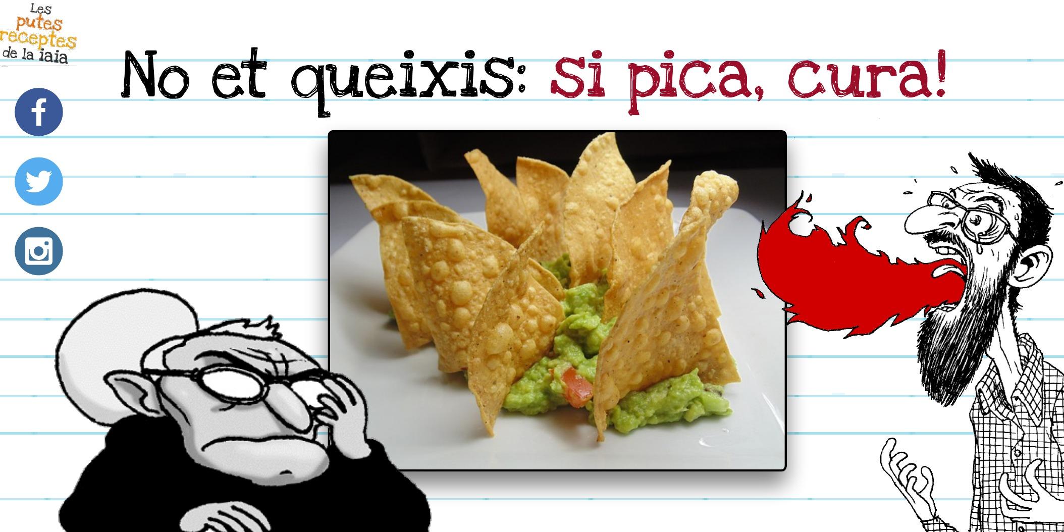 Putos Nachos amb Guacamole