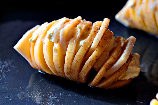 Putes patates Hasselback