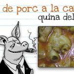 Putos peus de porc a la catalana