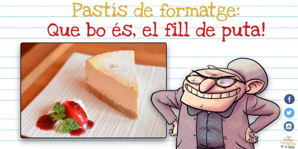 És un ocell? És un avió!? NO! És un gordo corrent cap al pastís de formatge!!