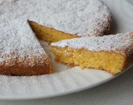 Típic pastís gallego: tarta de Santiago