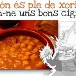 Cigrons amb xoriço: una recepta ideal per avui