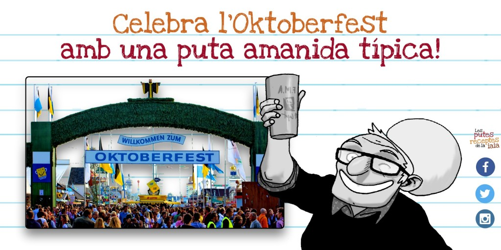 Oktoberfest, o qualsevol excusa és bona per tajar-se