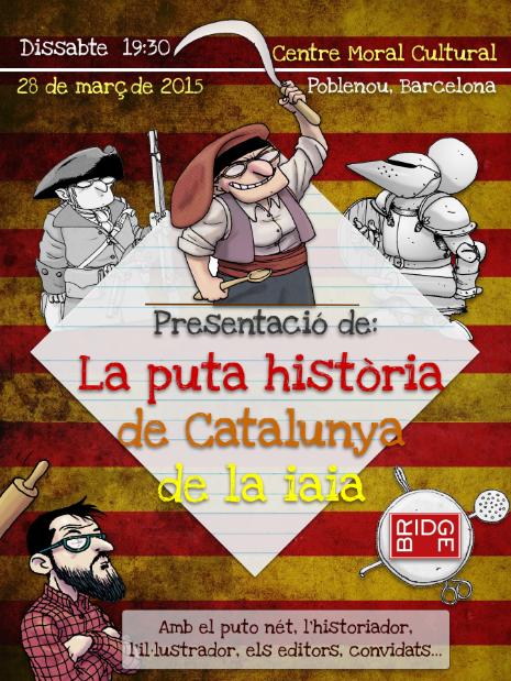 Aquest dissabte presentem llibre a Barcelona