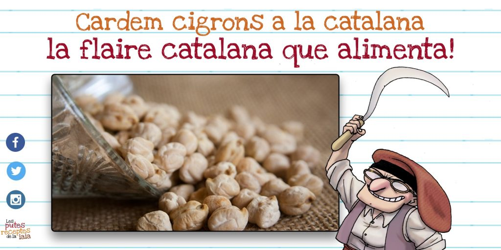 Cigrons a la Catalana - Recepta tradicional