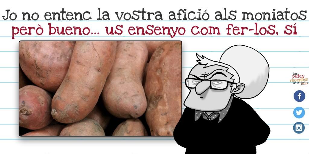 Els moniatos i les patates són cosins germans