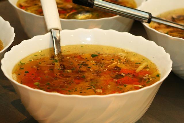 Aparca els mocs amb una sopa de farigola