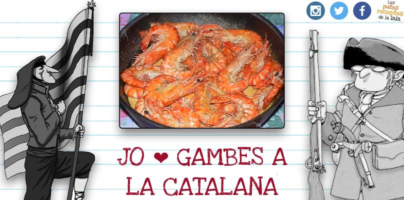 Parim unes gambes a la catalana