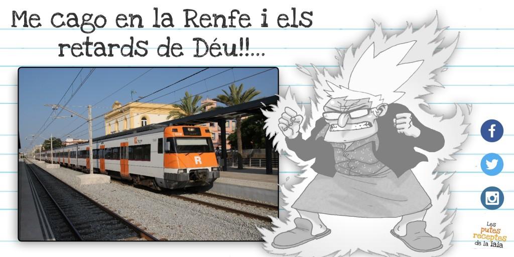 RENFE, MODEL DE RECLAMACIÓ ESTÀNDARD
