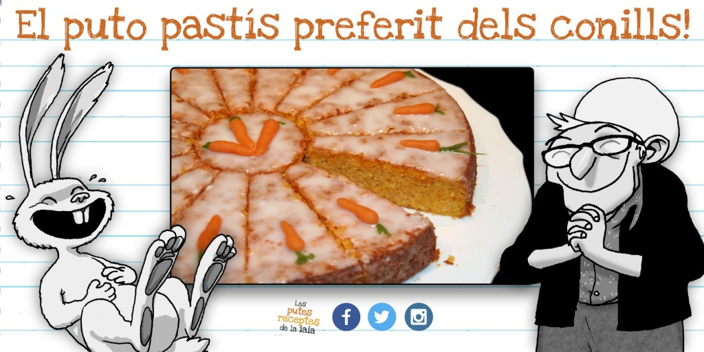 Com es fot el pastís de pastanaga