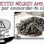 Espaguettis negres amb sèpia