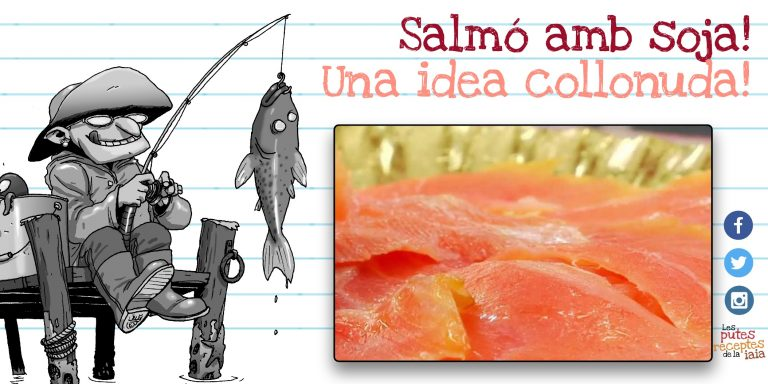 Salmó marinat, ideal per a gourmets