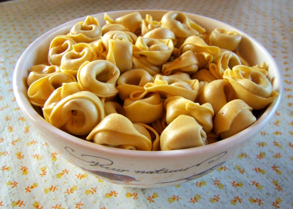 Avui: Tortellinis amb formatges