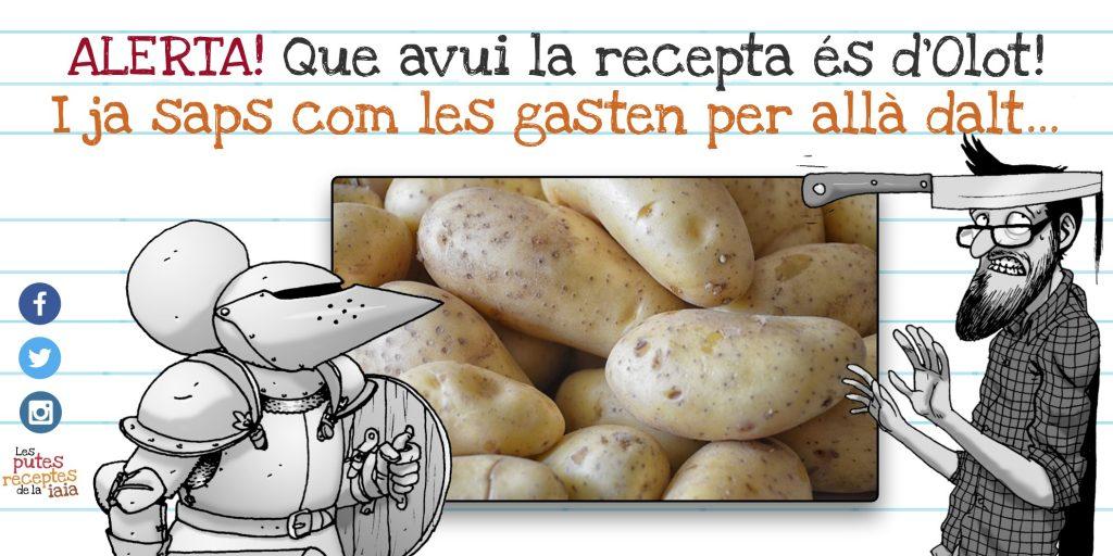 LEs patates d'Olot també es poden menjar, per exemple, a Mataró