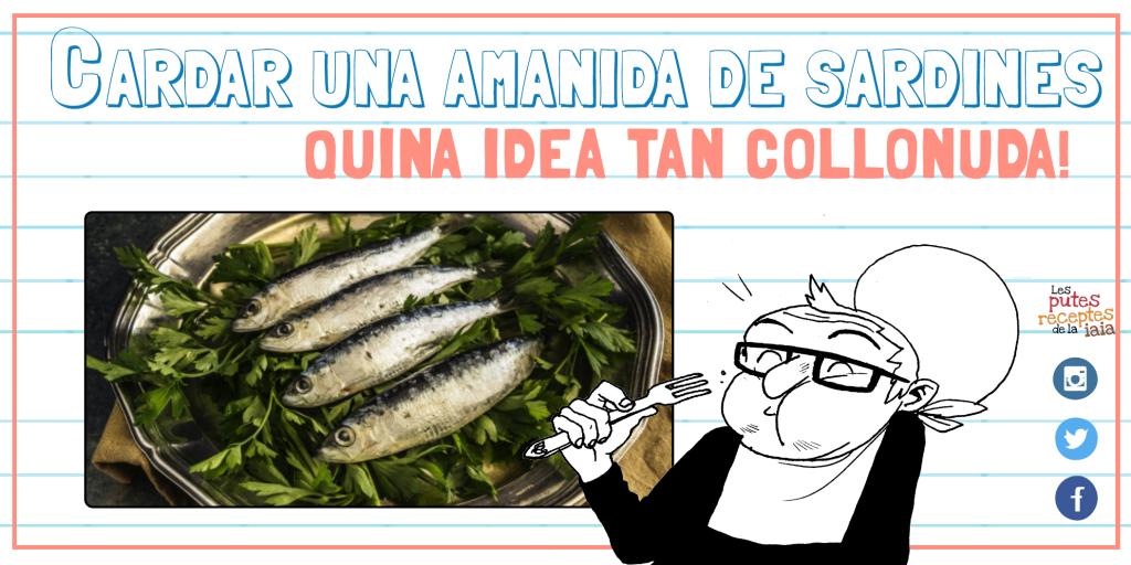 Amanida de sardines