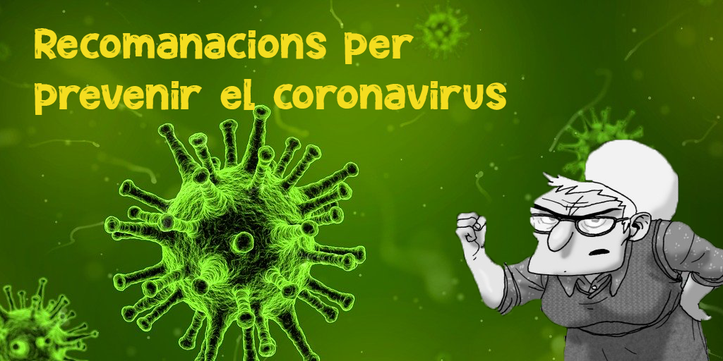 recomanacions pe prevenir el coronavirus